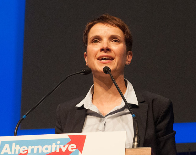 AfD Bundesvorsitzende Frauke Petry